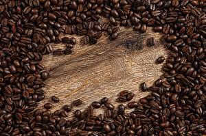 Wallpaper Coffee Many Grain Template greeting card
