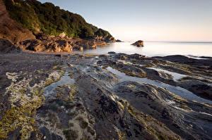 Fotos England Küste Meer Devon