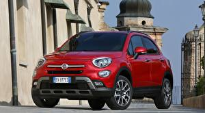 Image Fiat Red Crossover 500X, Cross, 2015
