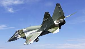 Fotos Jagdflugzeug Flugzeuge Flug Russische Mikojan-Gurewitsch MiG-29 Mig-29smt