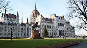 Image Hungary Budapest Monuments Parliament