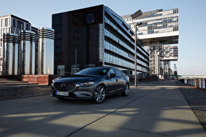 Wallpaper Mazda Grey Metallic 2018-19 Mazda 6 Worldwide automobile