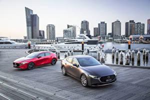 Sfondi desktop Mazda Due 2 2019 Mazda 3 macchine