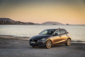 Pictures Mazda Grey Metallic 2020 Mazda2 Worldwide auto