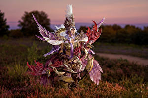 Images Mikhail Davydov photographer Costume play Wings Dekaron, Segita Hunter Girls Games