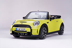 Images Mini Metallic Cabriolet Lime color Cooper S Cabrio, Worldwide, (F57), 2021