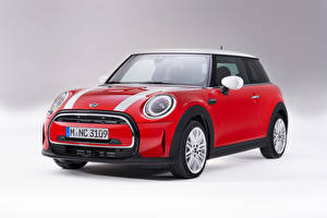 Photo Mini Red Metallic Cooper, Worldwide, (F56), 2021 Cars