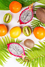 Images Dragon fruit Fruit Kiwifruit Orange fruit Lemons