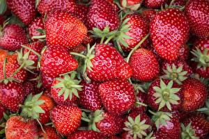 Bilder Erdbeeren Hautnah Viel