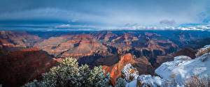 Pictures USA Parks Scenery Grand Canyon Park Crag Arizona