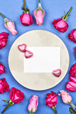 Images Valentine's Day Candy Roses Template greeting card Heart Sheet of paper flower