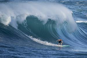 Picture Waves Surfing David H Yang