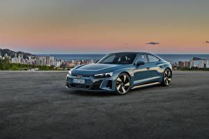 Picture Audi Gray Metallic e-tron GT quattro, Worldwide, 2021 automobile