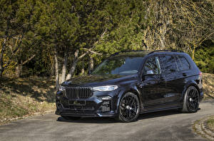 Picture BMW Black Metallic CUV 2020 Lumma CLR X7 automobile