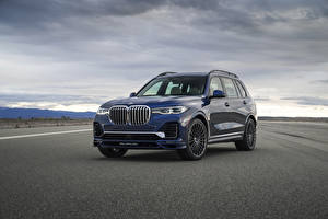 Photo BMW CUV Blue 2021 Alpina XB7 North America auto