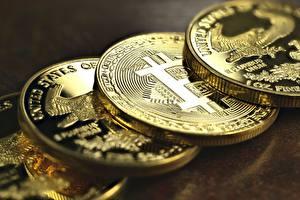 Images Bitcoin Closeup Coins