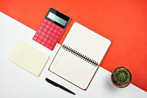 Sfondi desktop Cacti Taccuino Foglio di carta Biro