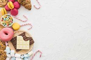 Bakgrundsbilder på skrivbordet Chokladbar Sötsaker Munk Godisklubba Hälsningskort mall Marshmallows