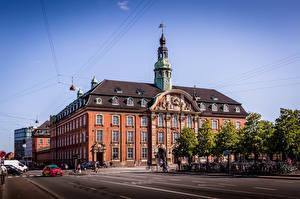 Wallpapers Denmark Copenhagen Building Street Cities