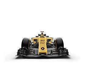Picture Formula 1 Renault White background R.S.16