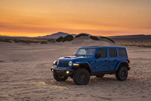 Photo Jeep SUV Blue 2021 Wrangler Unlimited Rubicon 392 Cars