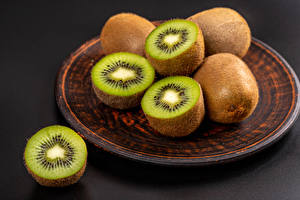 Papel de Parede Desktop Kiwi Prato Alimentos