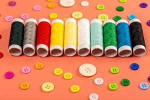 Sfondi desktop Molte Filo per cucire Sfondo colorato Multicolori buttons