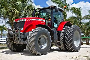 Pictures Red Tractor US Massey Ferguson, MF 8670