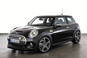 Wallpapers Mini Black AC Schnitzer, Cooper SE (F56), 2021 auto