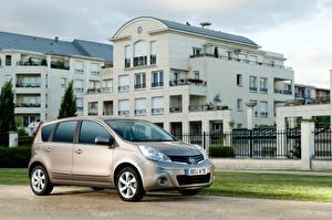 Image Nissan Gray Metallic Note Worldwide (E11), 2009-13 automobile