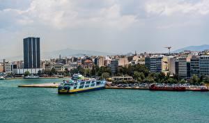 Hintergrundbilder Schiff Schiffsanleger Griechenland Athens