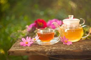 Fotos Tee Wasserkessel Kosmeen Tasse Lebensmittel