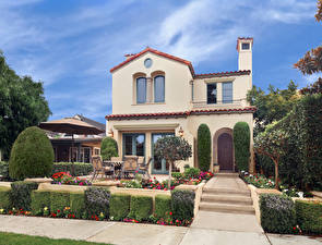 Image USA Houses Mansion Design Shrubs Newport Beach Cities