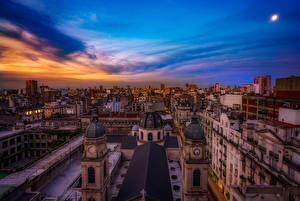 Images Argentina Houses Sky Buenos Aires Cities