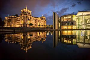 Images Germany Berlin Building Regierungsviertel Cities