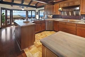 Fotos Innenarchitektur Design Küche Tisch