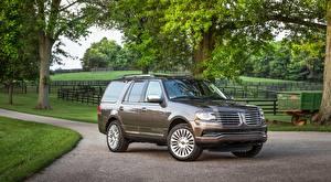 Fonds d'écran Lincoln SUV Navigator, 2015
