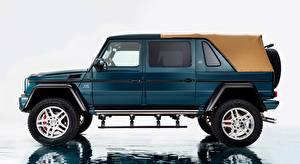 Fonds d'écran Maybach Mercedes-Benz Latéralement Sport utility vehicle G 650, Landaulet, 2017 automobile