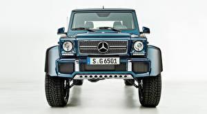 Fonds d'écran Mercedes-Benz Maybach Devant SUV G 650, Landaulet, 2017