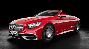 Picture Mercedes-Benz Maybach Cabriolet Red S 650, Cabriolet, 2017 auto