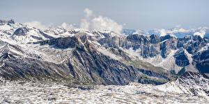 Bilder Schweiz Gebirge Panoramafotografie Alpen Gryon Natur