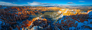 Photo USA Park Panorama Scenery Canyon Cliff Bryce Canyon National Park, Utah