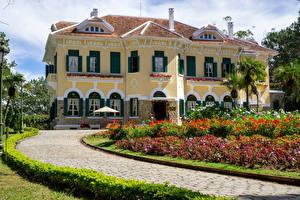 Fotos Vietnam Landschaftsbau Palast Bao Dai King Palace in Da Lat
