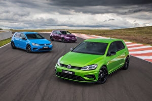 Images Volkswagen Three 3 Metallic 2020 Golf R 5-door Final Edition Cars