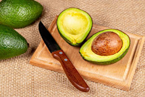 Wallpaper Avocado Knife Cutting board Food