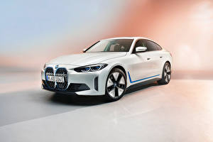Pictures BMW White Metallic i4, Worldwide, (G26), 2021 Cars