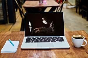 Pictures Coronavirus Coffee Laptops Notepad Ballpoint pen Mug