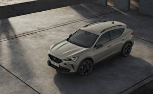 Pictures Cupra Crossover From above Grey 2021 Formentor VZ5 Worldwide Cars