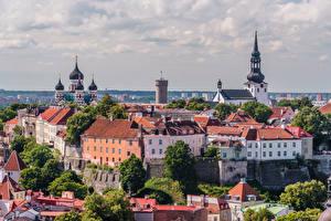 Images Estonia Tallinn Building Cathedral Castle Tower Toompea Castle, Old Tallinn