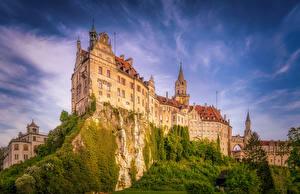 Sfondi desktop Germania Castello Falesia Hohenzollern Castle Città